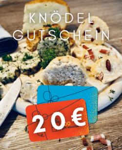 KNÖDEL GUTSCHEIN 20